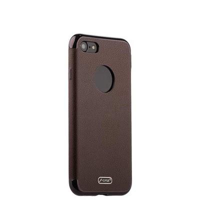 """Чехол-накладка силиконовый J-case Jack Series (с магнитом) для iPhone SE (2020г.)/ 8/ 7 (4.7"""") Коричневый - фото 15244"""