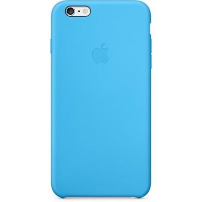 Чехол Apple Silicon Case для iPhone 6S Plus голубой - фото 7600