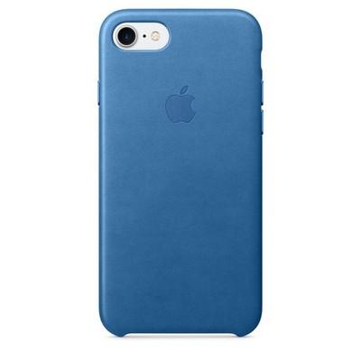 Apple leather case для iPhone 7 - «Синее море» - фото 7639
