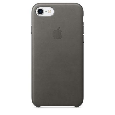Apple leather case для iPhone 7 - «Грозовое небо» - фото 7643