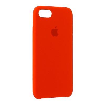 """Чехол-накладка силиконовый Silicone Case для iPhone 8/ 7 (4.7"""") Product red Красный №14 - фото 15914"""