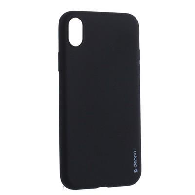 "Чехол-накладка силикон Deppa Gel Color Case TPU D-85363 для iPhone XR (6.1"") 0.8мм Черный - фото 15963"