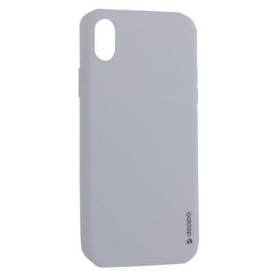 """Чехол-накладка силикон Deppa Gel Color Case TPU D-85366 для iPhone XR (6.1"""") 0.8мм Белый - фото 15964"""