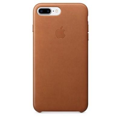 Apple leather case для iPhone 7 Plus - Золотисто-коричневый - фото 7663