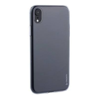 """Чехол-накладка силикон Deppa Gel Case D-85354 для iPhone XR (6.1"""") 0.8мм Прозрачный - фото 16007"""