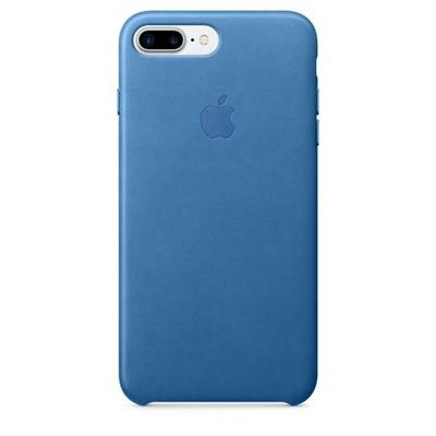 Apple leather case для iPhone 7 Plus - «Синее море» - фото 7675