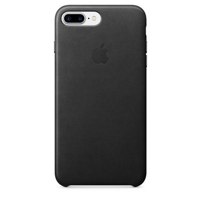 Apple leather case для iPhone 7 Plus - Чёрный - фото 7683