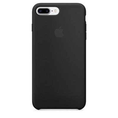 Apple silicon case для iPhone 7 Plus – Чёрный - фото 7755