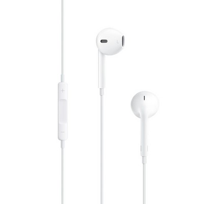Наушники Apple EarPods with Remote and Mic с пультом дистанционного управления и микрофоном - фото 7781