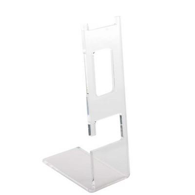 Подставка для часов 120х40мм, прозрачный пластик 3мм - фото 17867