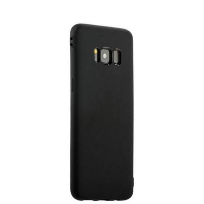 Чехол силиконовый для Samsung GALAXY S8+ SM-G955F уплотненный в техпаке (черный) - фото 18861