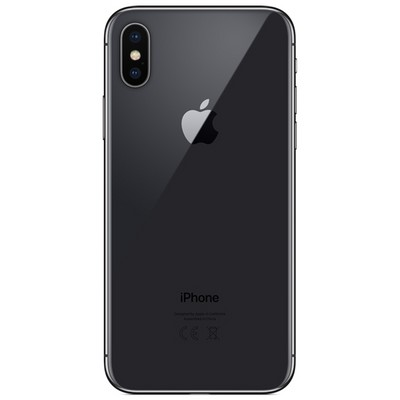 Apple iPhone X 256GB Space Gray (серый космос) MQAF2RU - фото 4780