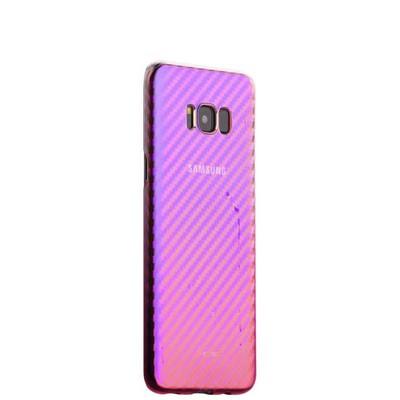 Чехол-накладка пластиковый J-case Colorful Fashion Series 0.5mm для Samsung GALAXY S8+ SM-G955 Розовый оттенок - фото 18183