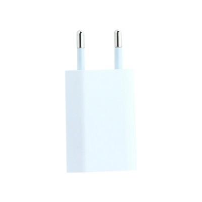 Адаптер питания USB 5Вт для всех моделей iPhone/ iPad mini/ iPod, (foxconn) 1000 mA - фото 18277
