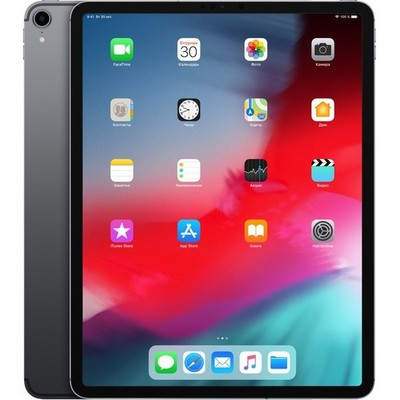 Apple iPad Pro 12.9 (2018) 256Gb Wi-Fi + Cellular Space Gray - фото 7950