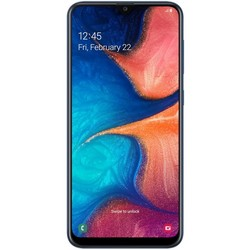 Samsung Galaxy A20 (2019) 32Gb Blue RU