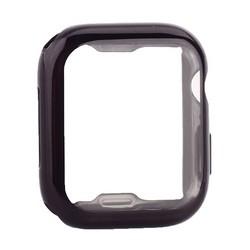 Чехол силиконовый TPU&защита экрана 360° COTEetCI для Apple Watch Series 5/ 4 (CS7060-BK) 44мм Черный