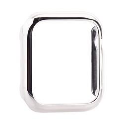 Чехол пластиковый бампер PC COTEetCI для Apple Watch Series 5/ 4 (CS7065-TS) 40мм Серебристый