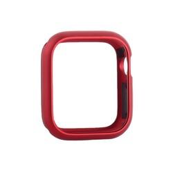 Чехол алюминиевый бампер COTEetCI магнитная рамка для Apple Watch Series 5/ 4 (CS7058-RD) 44мм Красный