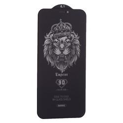 """Стекло защитное Remax 9D (GL-35) Emperor Series Антишпион Твердость 9H для iPhone 11/ XR (6.1"""") 0.22mm Black"""