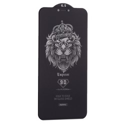 "Стекло защитное Remax 9D (GL-35) Emperor Series Антишпион Твердость 9H для iPhone 11 Pro Max/ XS MAX (6.5"") 0.22mm Black"