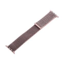 Ремешок COTEetCI W17 Magic Tape Band (WH5225-FS-40) для Apple Watch 40мм/ 38мм Powder Sand Розовый песок