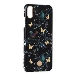 """Чехол-накладка KINGXBAR для iPhone XS Max (6.5"""") пластик со стразами Swarovski (Сорока)"""