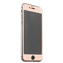 Стекло защитное (карбон) для iPhone 6s/ 6 (4.7) Rose Gold - Premium Tempered Glass 0.26mm скос кромки 2.5D Розовое Золото