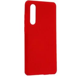Чехол-накладка силиконовый BoraSCO Hard Case для Huawei P30 красный
