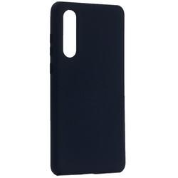 Чехол-накладка силиконовый BoraSCO Hard Case для Huawei P30 синий