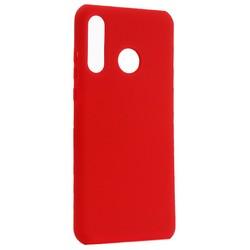 Чехол-накладка силиконовый BoraSCO Hard Case для Huawei P30 Lite красный