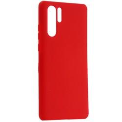 Чехол-накладка силиконовый BoraSCO Hard Case для Huawei P30 Pro красный