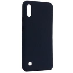 Чехол-накладка силиконовый BoraSCO Hard Case для Samsung Galaxy A10 (A105) синий