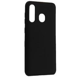 Чехол-накладка силиконовый BoraSCO B-36765 Hard Case для Samsung Galaxy A30/ A20 (A305/A205) черный