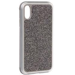 "Чехол-накладка противоударный X-DORIA Defense Lux Glitter (3X3CO5C8B) для Iphone XR (6.1"")Серебристый"