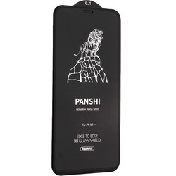 "Стекло защитное Remax 3D (GL-51) Panshi Series Твердость 12H (Shatter-proof) для iPhone 11/ XR (6.1"") 0.33mm Black"