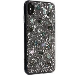 """Чехол-накладка пластиковая K-Doo Flash TPU+Lucite для Iphone XS Max (6.5"""") силиконовый борт Серебристая"""
