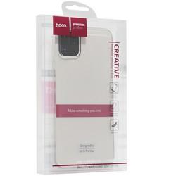 """Чехол силиконовый Hoco Light Series для iPhone 11 Pro Max (6.5"""") Дымчатый"""