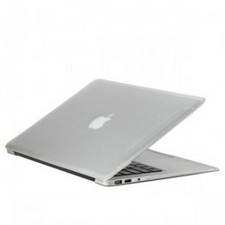 Защитный чехол-накладка для Apple MacBook Air 13 2017г матовая прозрачная