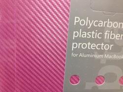 Защитный чехол-накладка BTA-Workshop для Apple MacBook Pro 13 карбон розовая