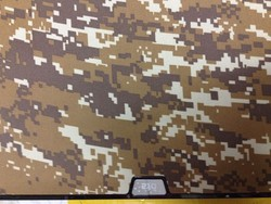 Защитный чехол-накладка BTA-Workshop для MacBook Air 13 комуфляж светло-желтый