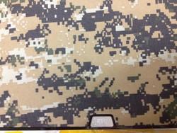 Защитный чехол-накладка BTA-Workshop для MacBook Air 13 комуфляж темно-желтый