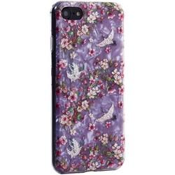 """Чехол-накладка пластиковый Fashion Case для iPhone SE (2020г.)/ 8/ 7 (4.7"""") с силиконовыми бортами Розовый вид №1"""