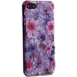 """Чехол-накладка пластиковый Fashion Case для iPhone 8/ 7 (4.7"""") с силиконовыми бортами Розовый вид №4"""