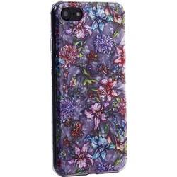 """Чехол-накладка пластиковый Fashion Case для iPhone 8/ 7 (4.7"""") с силиконовыми бортами Розовый вид №6"""