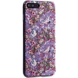 """Чехол-накладка пластиковый Fashion Case для iPhone 8 Plus/ 7 Plus (5.5"""") с силиконовыми бортами Розовый вид №1"""