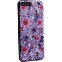 """Чехол-накладка пластиковый Fashion Case для iPhone 8 Plus/ 7 Plus (5.5"""") с силиконовыми бортами Розовый вид №4"""