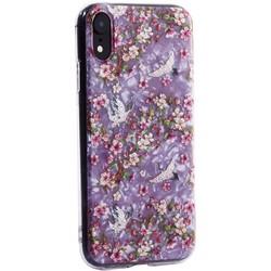 """Чехол-накладка пластиковый Fashion Case для iPhone XR (6.1"""") с силиконовыми бортами Розовый вид №1"""