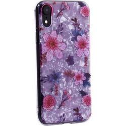 """Чехол-накладка пластиковый Fashion Case для iPhone XR (6.1"""") с силиконовыми бортами Розовый вид №4"""
