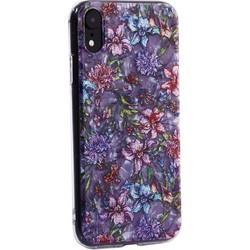 """Чехол-накладка пластиковый Fashion Case для iPhone XR (6.1"""") с силиконовыми бортами Розовый вид №6"""